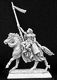 Warlord Lady Devona, Crusaders Mage Unpainted Miniature  RPR14213