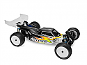 "JConcepts 1/10th Scale Silencer AE RC10B5M Clear Body with 6.5"" Wing  JCO0273"