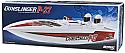 Aquacraft RTR P-27 Gunslinger Crackerbox Brushless Offshore Racing R/C Boat AQUB1815
