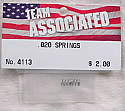Associated .020 Springs (RC12L & Others)