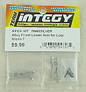 Losi Micro-T Silver Alloy Front Lower Arm Set