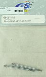 GS Racing 52mm Shock Shafts (2)/Storm  GSCST072B