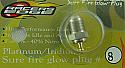 Racers Edge Sure Fire #8 Cold Glow Plug (1)  RCESF8U