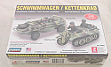 1/72nd Scale German Schwimmwagen/Kettenkrad Plastic Model Kit
