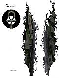 "Racers Edge 7 x 8"" Dark Maze Decal Sheet  RCESIC008"
