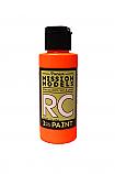 Mission Models Racing Fluorescent Bright Orange Polycarbonate/Lexan Paint 2oz MIOMMRC-050
