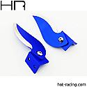 Hot Racing CNC Aluminum Turn Fins (2)/Traxxas Spartan Boat  HRASPN56TF06