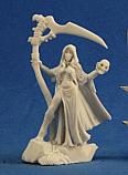 Dark Heaven Bones Necromancer Unpainted Miniature by Reaper  RPR77283