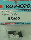 Ko Propo Crystal Set FM 27MHz 27.125 Ch. 07  KOP83207