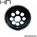 Hot Racing 1/14th Scale Steel 0.5M 60T Main Gear/Mini 8IGHT RTR  HRASOFE60M05