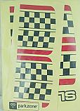 Parkzone Decal Sheet/Slo-V  PKZ1302