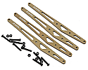 Axial Racing 1/8 Scale Aluminum Lower Link Plate Set/Yeti XL  AXIAX31264