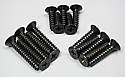 Kyosho M4 Flat Head Self-Tapping Screws 4x15, 4x20, 4x25 (5 of each)