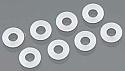 HPI Racing Blitz POM Cartridge Washer 3x6x0.5mm (8)