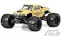 Pro-Line Racing 1/10th Scale Desert Militia Clear Body/E-Mx/E-Rev/T-Mx PRO340100