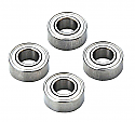Kyosho 5 x 10 x 4mm Metal Shielded Ball Bearings (4)  KYOBRG001