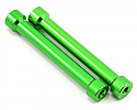 Axial Racing 1/10 Scale 7x45mm Green Aluminum Posts (2)  AXIAXA1317