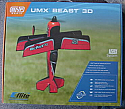 E-Flite UMX Beast 3D BNF Micro RC AS3X Brushless Airplane EFLU4850