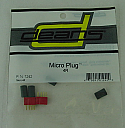 Deans Power Plug/Micro 4R Connector Set (One Male, One Female)