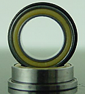 "1/4 x 3/8 x 1/8"" FLANGED PolyAmide Sealed Bearing  FR168LL"