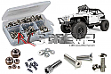 Axial SCX10 Jeep Wrangler G6 Stainless Steel Screw Set by RC Screwz  RCZAXI008