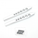 Axial Wraith HD Silver Aluminum Lower Suspension Links  STRSTA80083LS