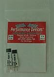 40Mhz Ko Propo Single Conversion FM TX/RX Crystal Set UK CH69 / Euro CH53 40.695Mhz - Performance Devices PDV9610069