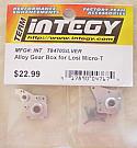 Losi Micro-T Silver Alloy Gear Box INTT8470S