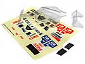 HPI Formula 1/32nd Scale Q32 F1 Car Body and Wing Set (CLEAR) HPI116717