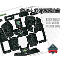 FreqesKinz Axial Wraith Interior Skulls Decal Set FRQ54103