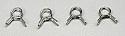 """DU-BRO Large 1/8"""" Fuel Line Clips (4)  DUB678"""