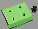 Duratrax 1/10th Scale Front Bumper, Green/Evader ST  DTXC6848