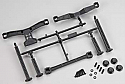 Associated SC10 2WD Extended Front & Rear Body Mounts by PRO-Line PRO607100