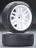 Traxxas Pre-Mounted 1/16 BFGoodrich Rally Tire & Rally Wheel (2)