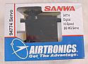 Airtronics 94774 Digital High-Speed BB Metal Gear Servo (.1s, 114oz-in)