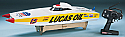 "Aquacraft Lucas Oil Brushless 4S Catamaran RTR Race Boat (29.5"" Long) AQUB2105"