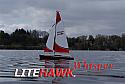 "Litehawk Whisper RTR Radio Control Sailboat (10.24"" Long, 17.13"" Height) LTH285-24001"