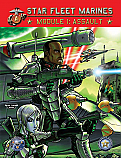 Star Fleet Marines: Module 1 - Assault Board Game ADB2101