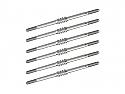 JConcepts 1/10 Generation Fin Titanium 67mm Turnbuckle Set (6)/RC10T5M  JCO2441