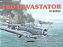 TBD Devastator in Action by Squadron/Signal Publications  SSP1097