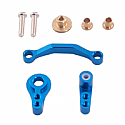 GH Racing Aluminum Steering Bellcrank Set (Blue)/RC18T  GHH02446