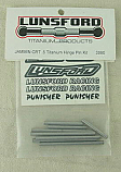 Ofna Jammin CRT .5 1/16th SCale Truck Titanium Hinge Pin Kit by Lunsford Racing LNS3990