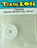 Team Losi Monster Differential, Gear Only/XXX-NT LOSA2925
