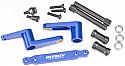 Integy Blue Alloy Steering Bellcrank Set w/Bearings/T-Maxx  INTT3714BLUE