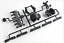 Kyosho Lazer ZX-5 Carbon Composite Bulkhead Set