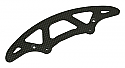 Associated RC10 R5 Oval Graphite Front Bumper