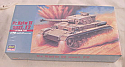 1/72nd Scale German Pz.Kpfw IV ausf.F2 Tank Model Kit