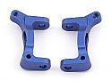 Team Associated RC18T FT Blue Aluminum Caster Blocks