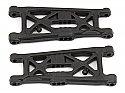 Team Associated RC10 B6/B6D Buggy Flat Front Suspension A-Arms ASC91671