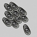 Zombicide: Tokens & Tiles - Skull Trackers by Guillotine Games  COLGUG0033